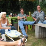83 - Sonja, Peter und Andreas beim Relaxen
